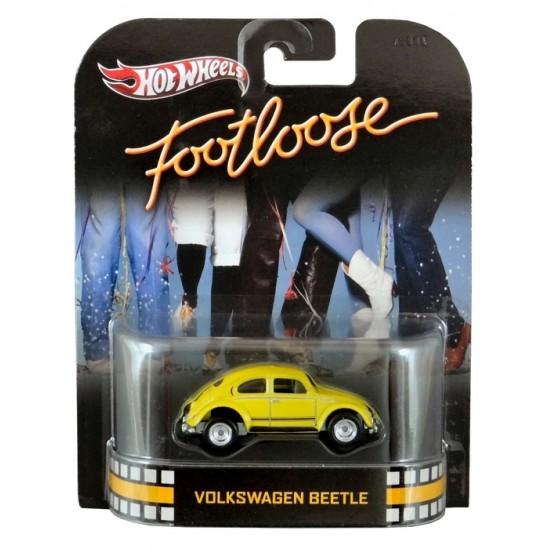 Hot Wheels - Retro Entertainment 2013 - Footloose - Volkswagen Beetle  - Hobby Lobby CollectorStore