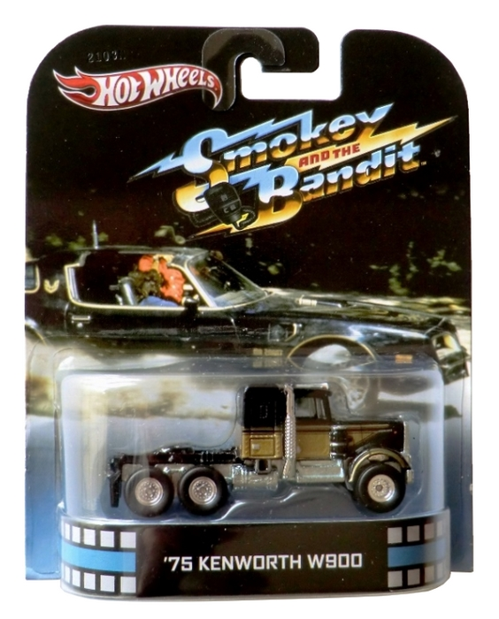 Hot Wheels - Retro Entertainment 2013 - Smokey and the Bandit - ´75 Kenworth W900