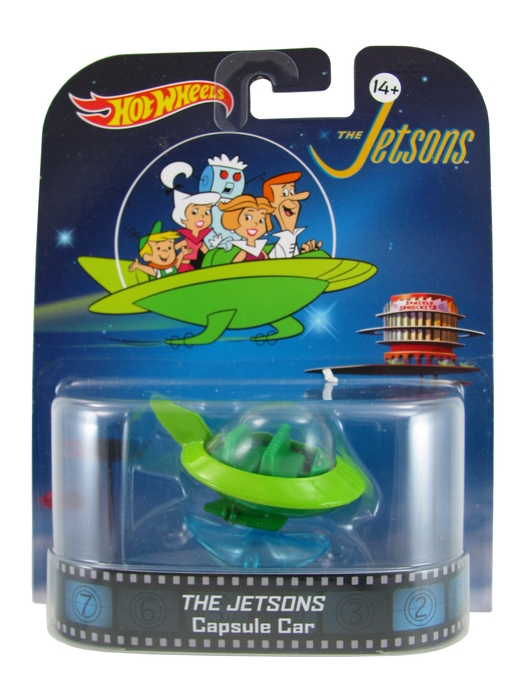 Hot Wheels - Retro Entertainment 2014 - The Jetsons - Capsule Car  - Hobby Lobby CollectorStore