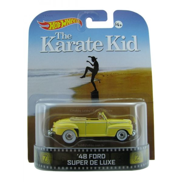 Hot Wheels - Retro Entertainment 2014 - The Karate Kid - ´48 Ford Super De Luxe  - Hobby Lobby CollectorStore