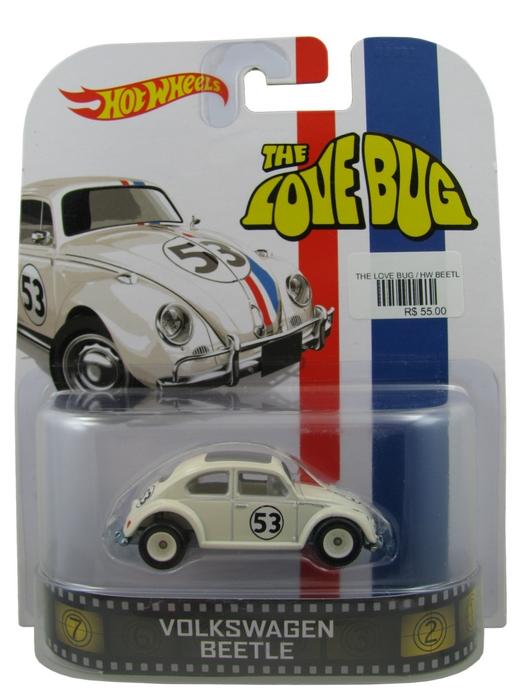 Hot Wheels - Retro Entertainment 2014 - The Love Bug - Volkswagen Beetle