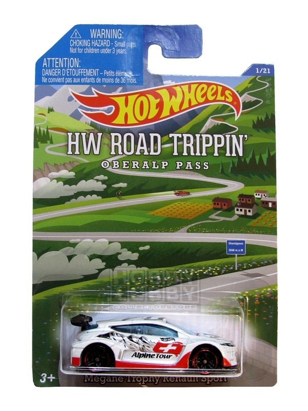 Hot Wheels - Road Trippin´- Megane Trophy Renault Sport  - Hobby Lobby CollectorStore