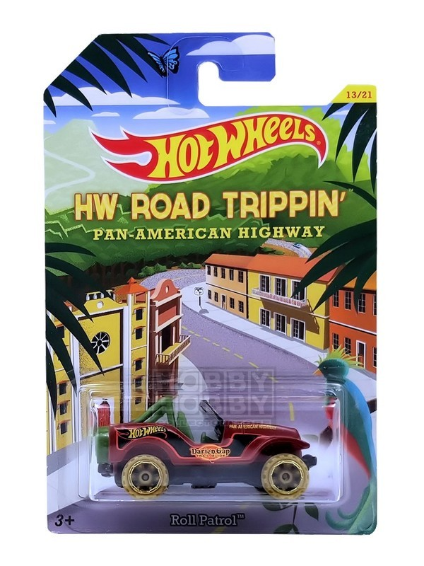 Hot Wheels - Road Trippin' - Roll Patrol