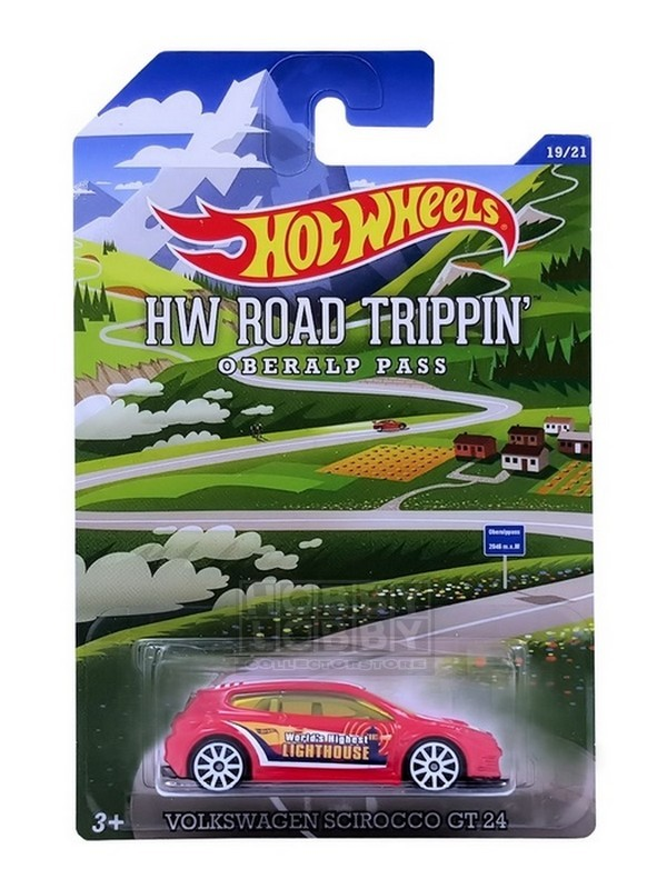 Hot Wheels - Road Trippin' - Volkswagen Scirocco GT-24