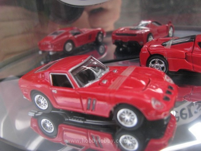 Hot Wheels - Set Ferrari - 1963 - 2003 - Comemorativa  - Hobby Lobby CollectorStore