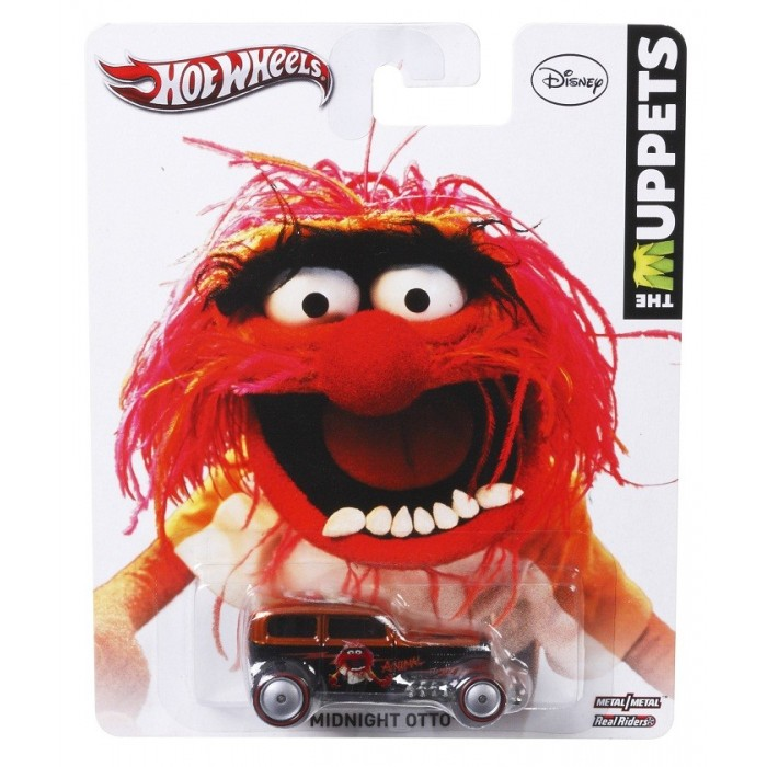 Hot Wheels - Culture Pop - The Muppets - Midnight Otto  - Hobby Lobby CollectorStore