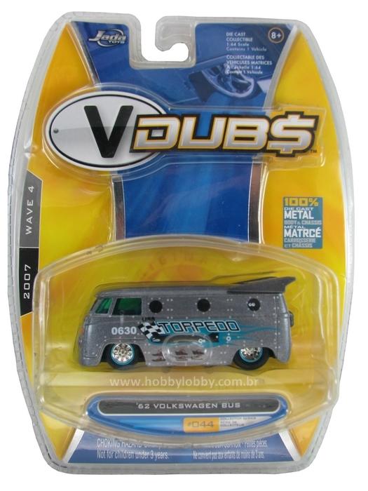 Jada - ´62 Volkswagen Bus  - Hobby Lobby CollectorStore