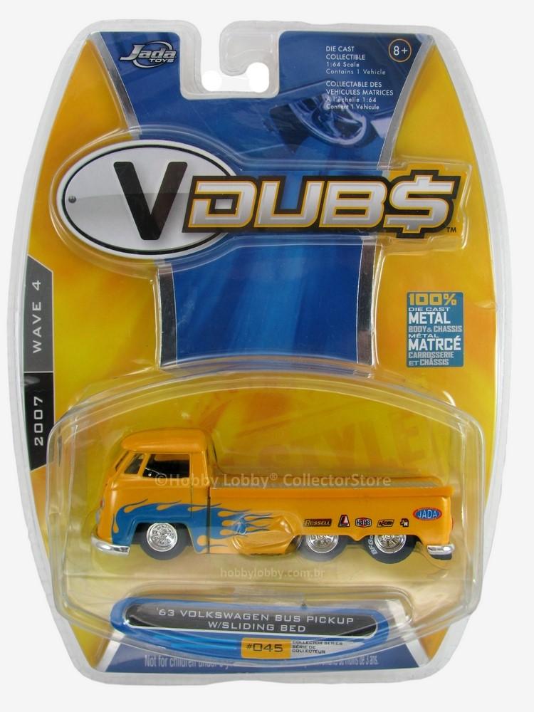 Jada - ´63 Volkswagen Bus Pickup W/Slliding Bed