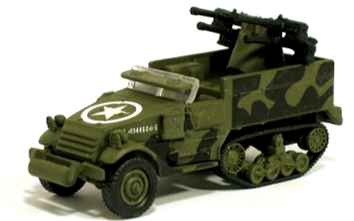 Johnny Lightning - Battle of the Bulge - WWII M-16 Half Track
