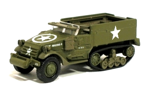 Johnny Lightning - D-Day - Invasion of Normandy - WWII M-16 Half Track