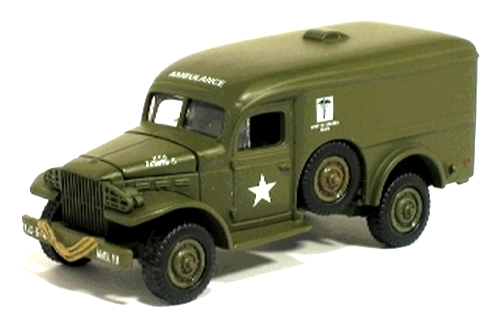 Johnny Lightning - D-Day - Invasion of Normandy - WWII WC54 Ambulance