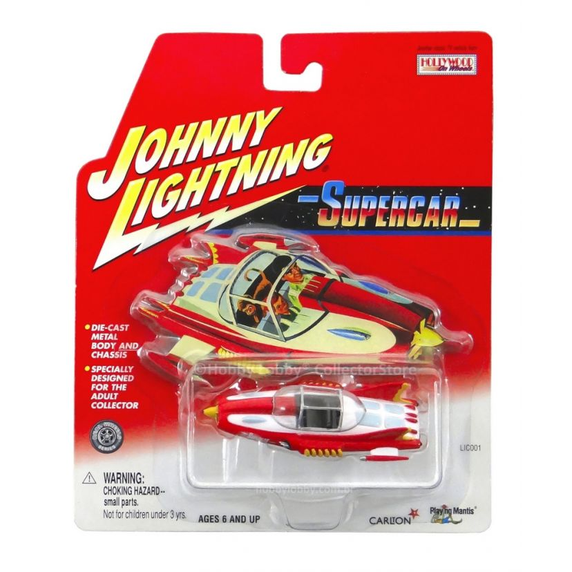 Johnny Lightning - Hollywood on Wheels - Supercar  - Hobby Lobby CollectorStore