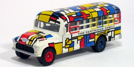 Johnny Lightning - Hollywood on Wheels - The Partridge Family