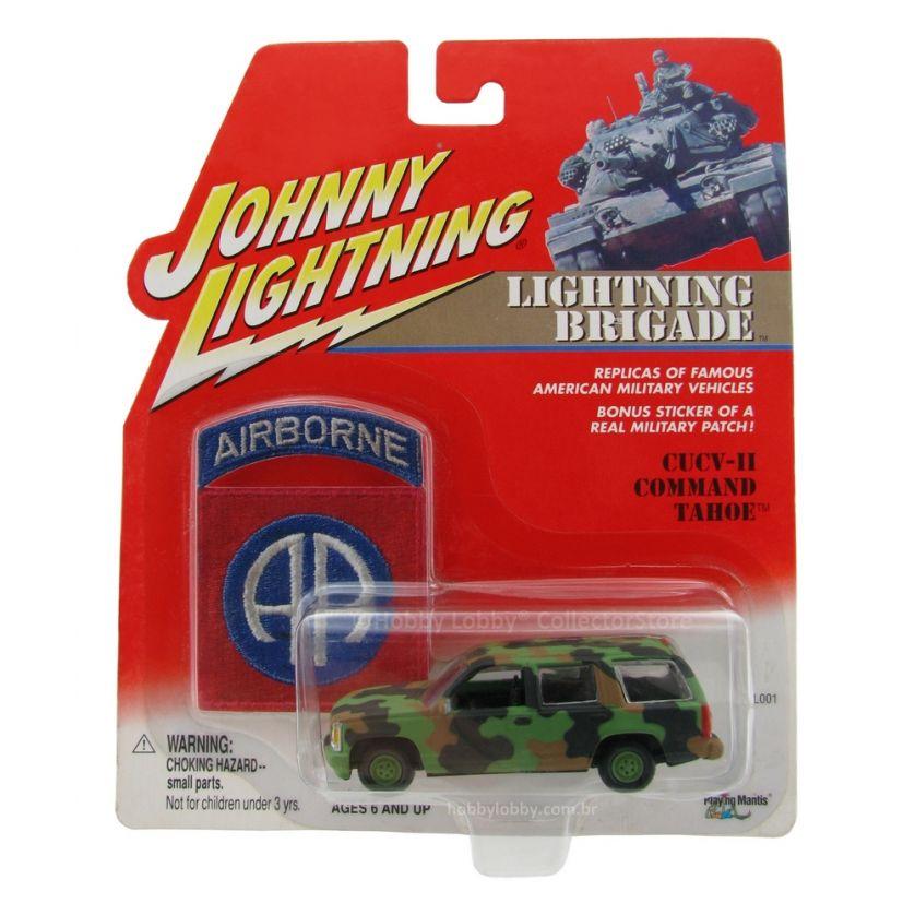 Johnny Lightning - Lightning Brigade - CUCV-II Comand Tahoe  - Hobby Lobby CollectorStore