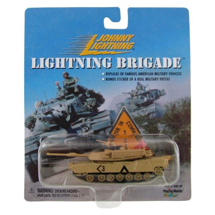 Johnny Lightning - Lightning Brigade - Desert Storm M1A1 Tank  - Hobby Lobby CollectorStore