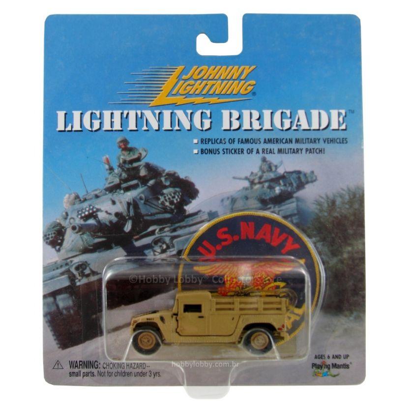 Johnny Lightning - Lightning Brigade - Desert Storm M998 Cargo Humvee  - Hobby Lobby CollectorStore