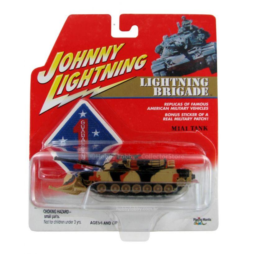 Johnny Lightning - Lightning Brigade - M1A1 Tank  - Hobby Lobby CollectorStore