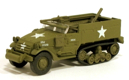 Johnny Lightning - Lightning Brigade - WWII M16 Anti-Aircraft Half Track  - Hobby Lobby CollectorStore
