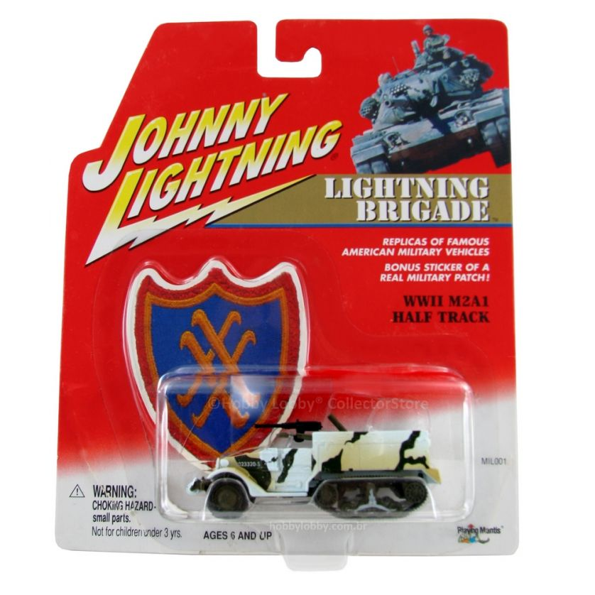 Johnny Lightning - Lightning Brigade - WWII M2A1 Half Track  - Hobby Lobby CollectorStore