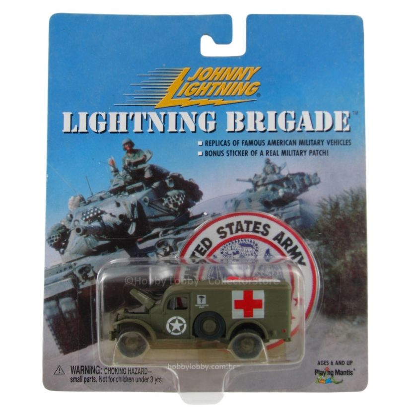 Johnny Lightning - Lightning Brigade - WWII WC54 Ambulance  - Hobby Lobby CollectorStore