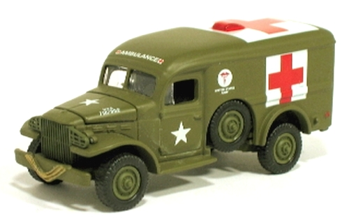 Johnny Lightning - Lightning Brigade - WWII WC-54 Ambulance