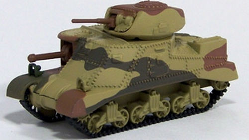 Johnny Lightning - Military Muscle - WWII M3 Grant Tank