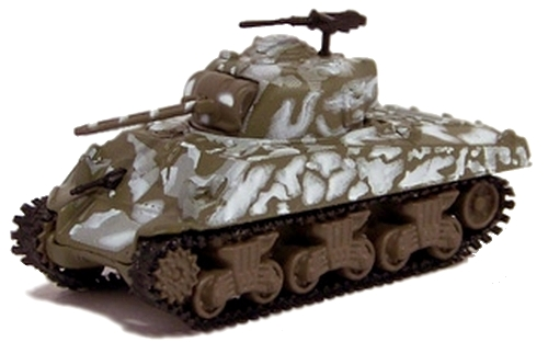 Johnny Lightning - Military Muscle - WWII M4A3 Sherman Tank