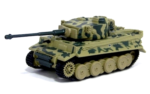Johnny Lightning - Military Muscle - WWII Tiger I Tank