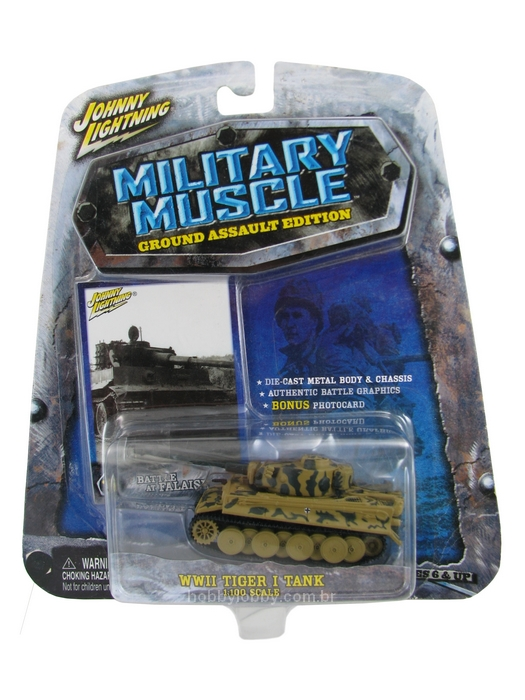 Johnny Lightning - Military Muscle - WWII Tiger I Tank  - Hobby Lobby CollectorStore