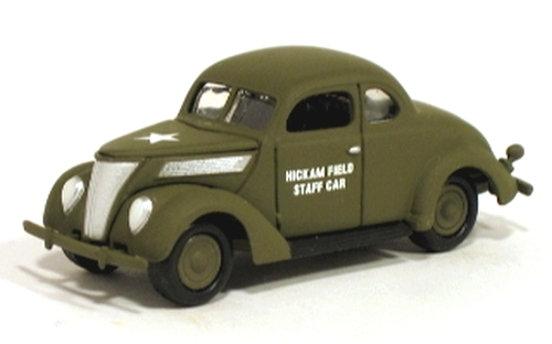 Johnny Lightning - Pearl Harbor - Hickam Field Army Air Corps - 1937 Ford Staff Car