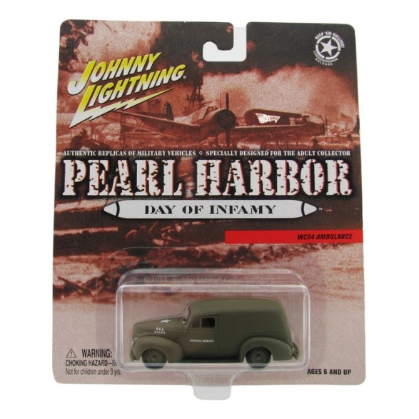 Johnny Lightning - Pearl Harbor - WC54 Ambulance  - Hobby Lobby CollectorStore