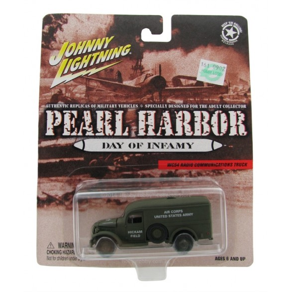 Johnny Lightning - Pearl Harbor - WC54 Radio Communications Truck  - Hobby Lobby CollectorStore