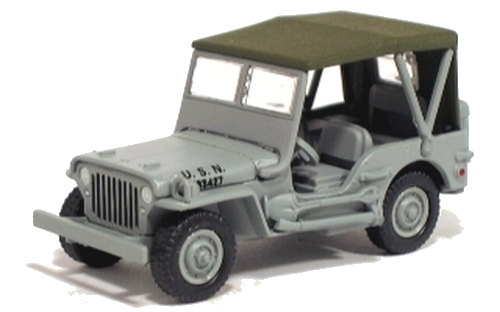 Johnny Lightning - Pearl Harbor - Willys USN Jeep