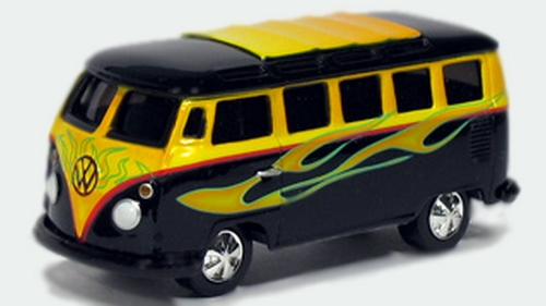 Johnny Lightning - Street Freaks - VW Samba Bus  - Hobby Lobby CollectorStore