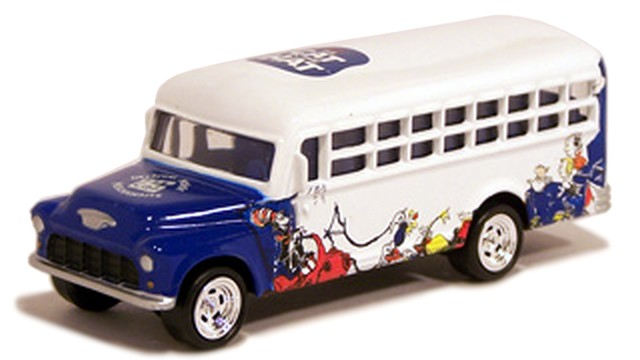 Johnny Lightning - The Cat in the Hat - ´56 Chevy School Bus  - Hobby Lobby CollectorStore