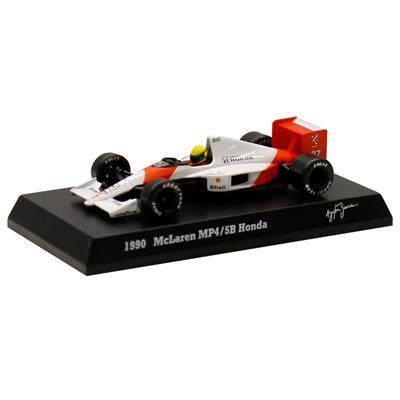 Kyosho - Coleção Ayrton Senna - 1990 - McLaren MP45B Honda