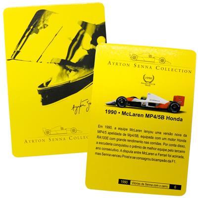 Kyosho - Coleção Ayrton Senna - 1990 - McLaren MP45B Honda  - Hobby Lobby CollectorStore