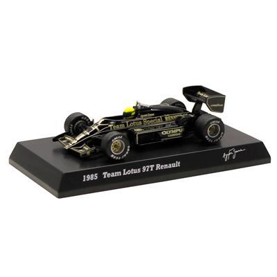 Kyosho - Coleção Ayrton Senna  - 1985 - Team Lotus 97T Renault
