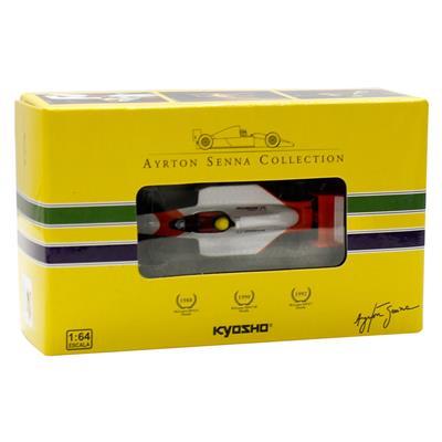 Kyosho - Coleção Ayrton Senna  - 1988 - McLaren MP4/4 Honda  - Hobby Lobby CollectorStore