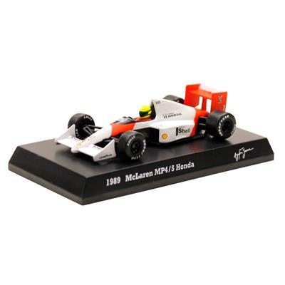 Kyosho - Coleção Ayrton Senna - 1989  - McLaren MP45 Honda