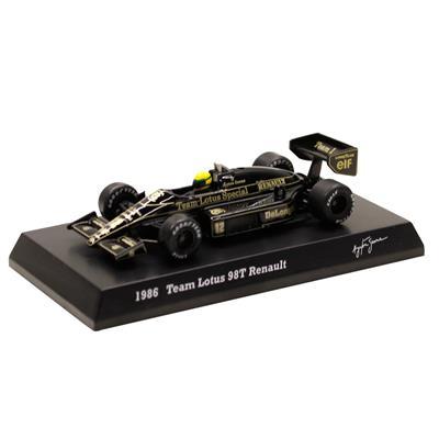 Kyosho - Coleção Ayrton Senna  - 1986 - Team Lotus 98T Renault