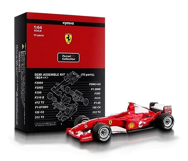 Kyosho - Ferrari F1 Collection - Ferrari F2002  - Hobby Lobby CollectorStore