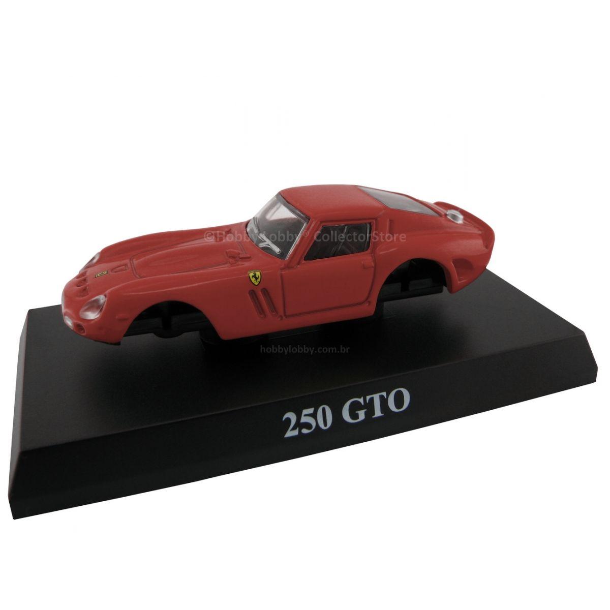 Kyosho - Ferrari Minicar Collection II - Ferrari 250 GTO (vermelha)  - Hobby Lobby CollectorStore