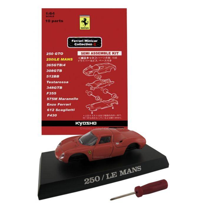 Kyosho - Ferrari Minicar Collection II - Ferrari 250 LM (vermelha)