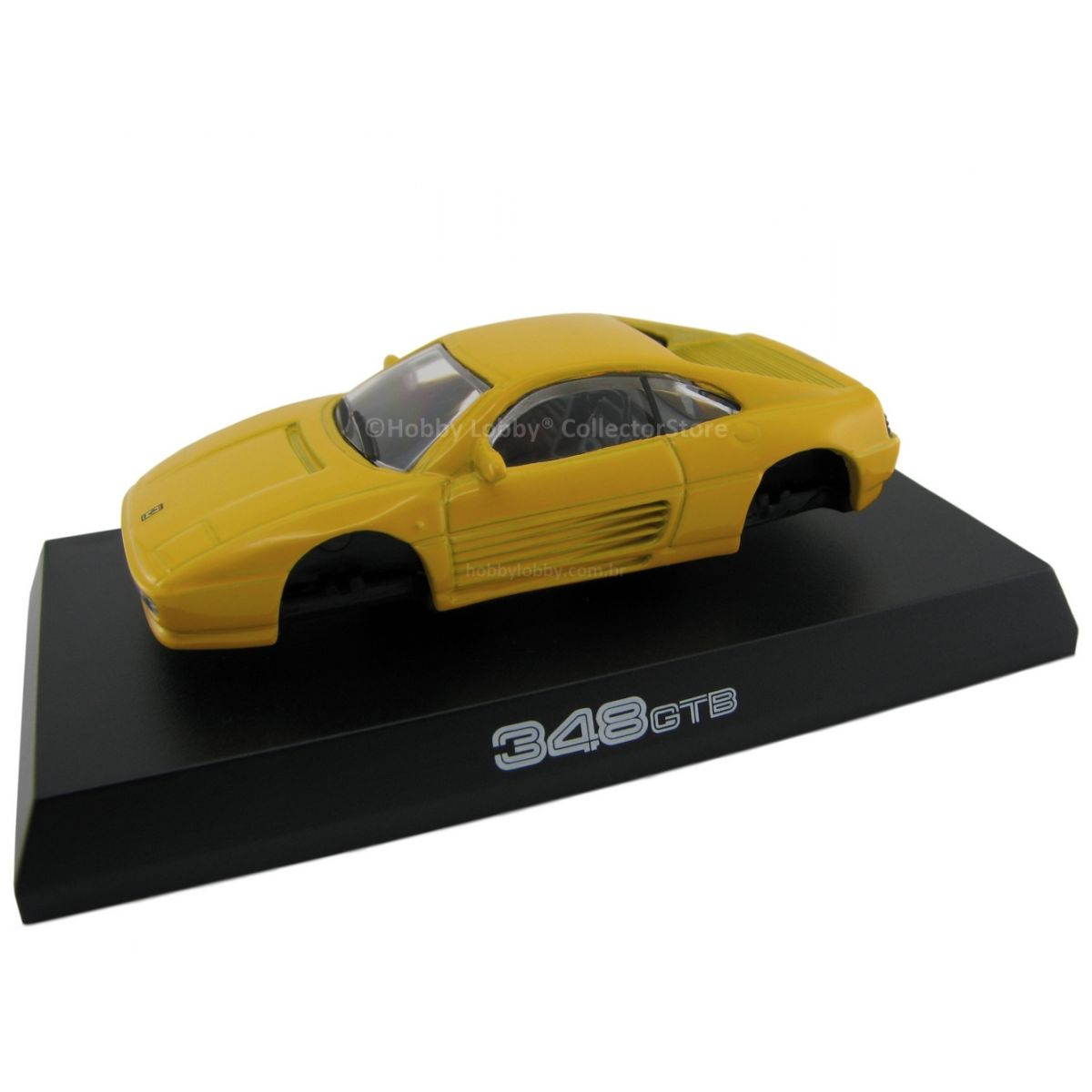 Kyosho - Ferrari Minicar Collection II - Ferrari 348 GTB (Amarela)  - Hobby Lobby CollectorStore