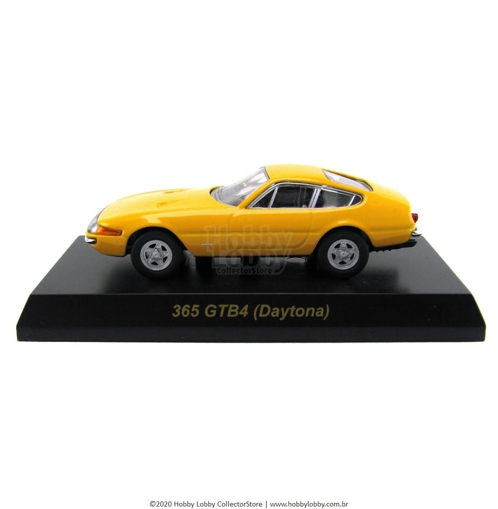 Kyosho - Ferrari Minicar Collection II - Ferrari 365GTB/4 Daytona (Amarela)  - Hobby Lobby CollectorStore