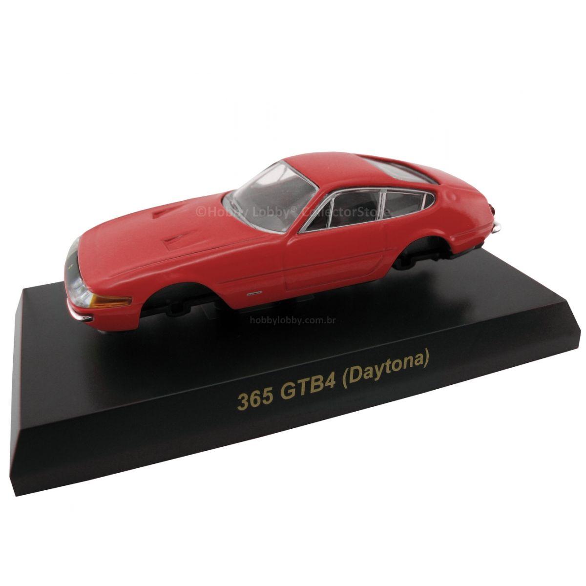 Kyosho - Ferrari Minicar Collection II - Ferrari 365GTB/4 Daytona (Vermelha)  - Hobby Lobby CollectorStore