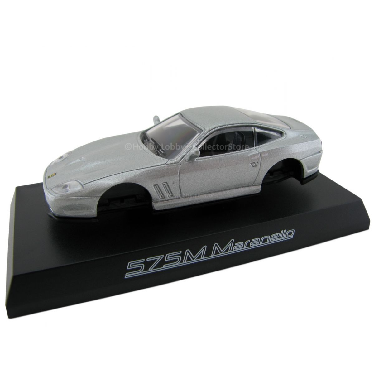 Kyosho - Ferrari Minicar Collection II - Ferrari 575M Maranello [Prata]  - Hobby Lobby CollectorStore