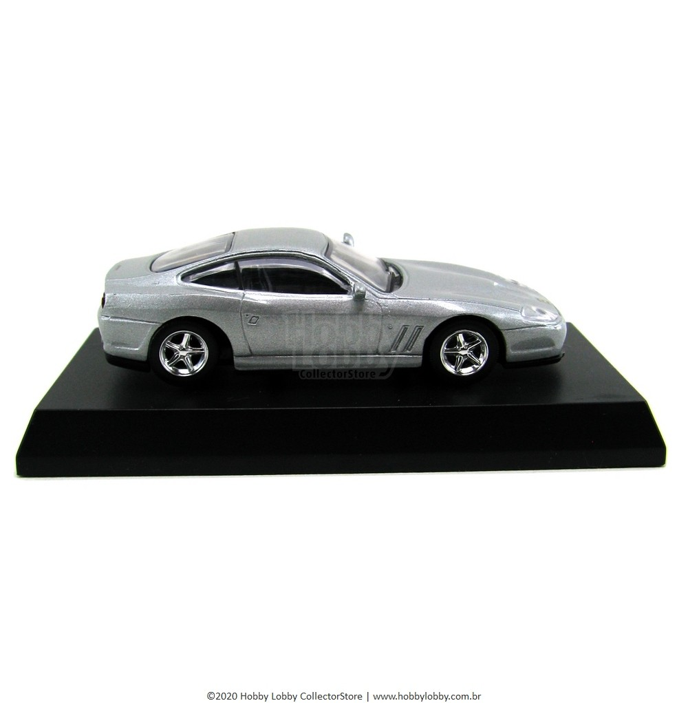 Kyosho - Ferrari Minicar Collection II - Ferrari 575M Maranello [Prata]  - Hobby Lobby CollectorStore