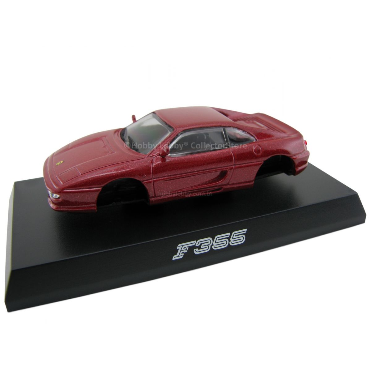 Kyosho - Ferrari Minicar Collection II - Ferrari F355 (vermelho metálico)  - Hobby Lobby CollectorStore